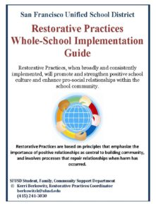 SFUSD RP Whole School Impl Guide cover